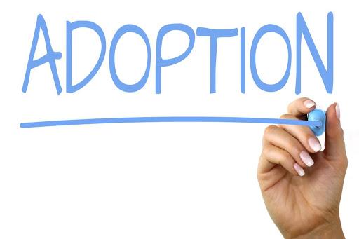 "The word ""Adoption."""