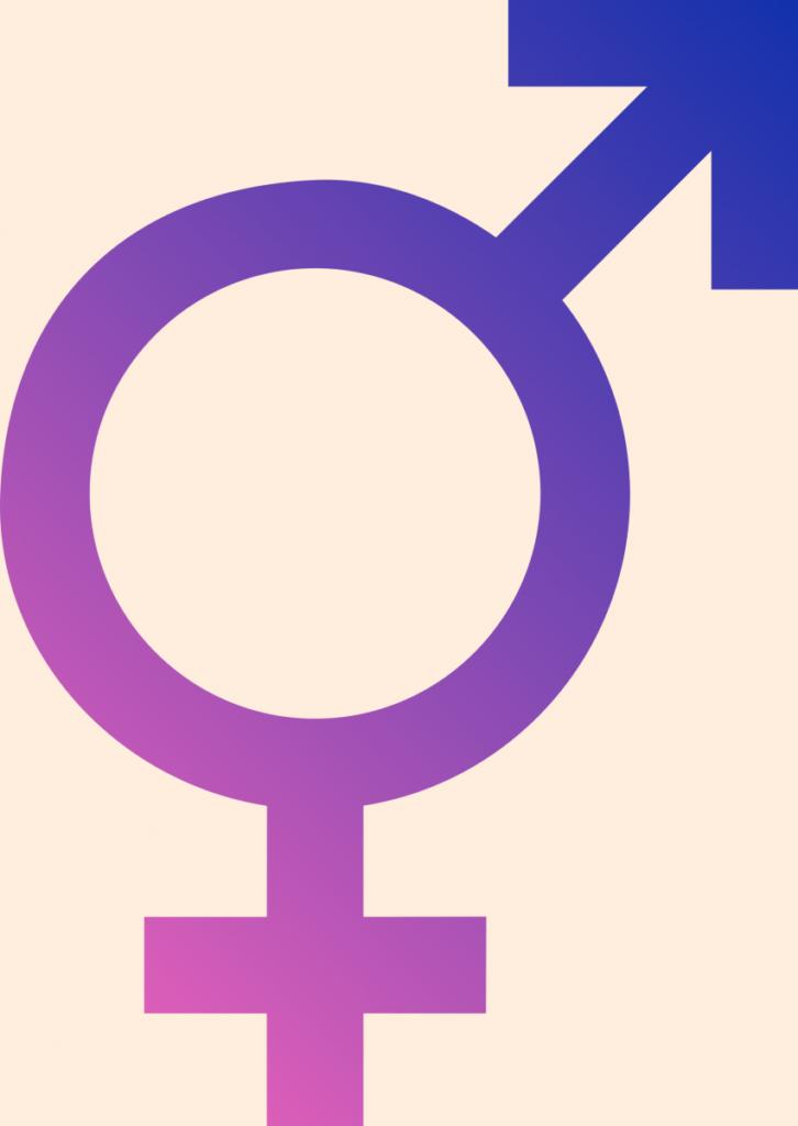 The intersex symbol.