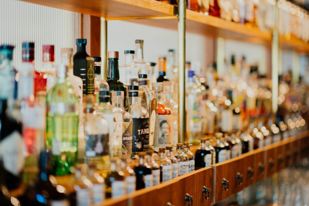 A variety of alcohol.